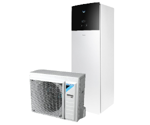 Domestic hot water heat pump